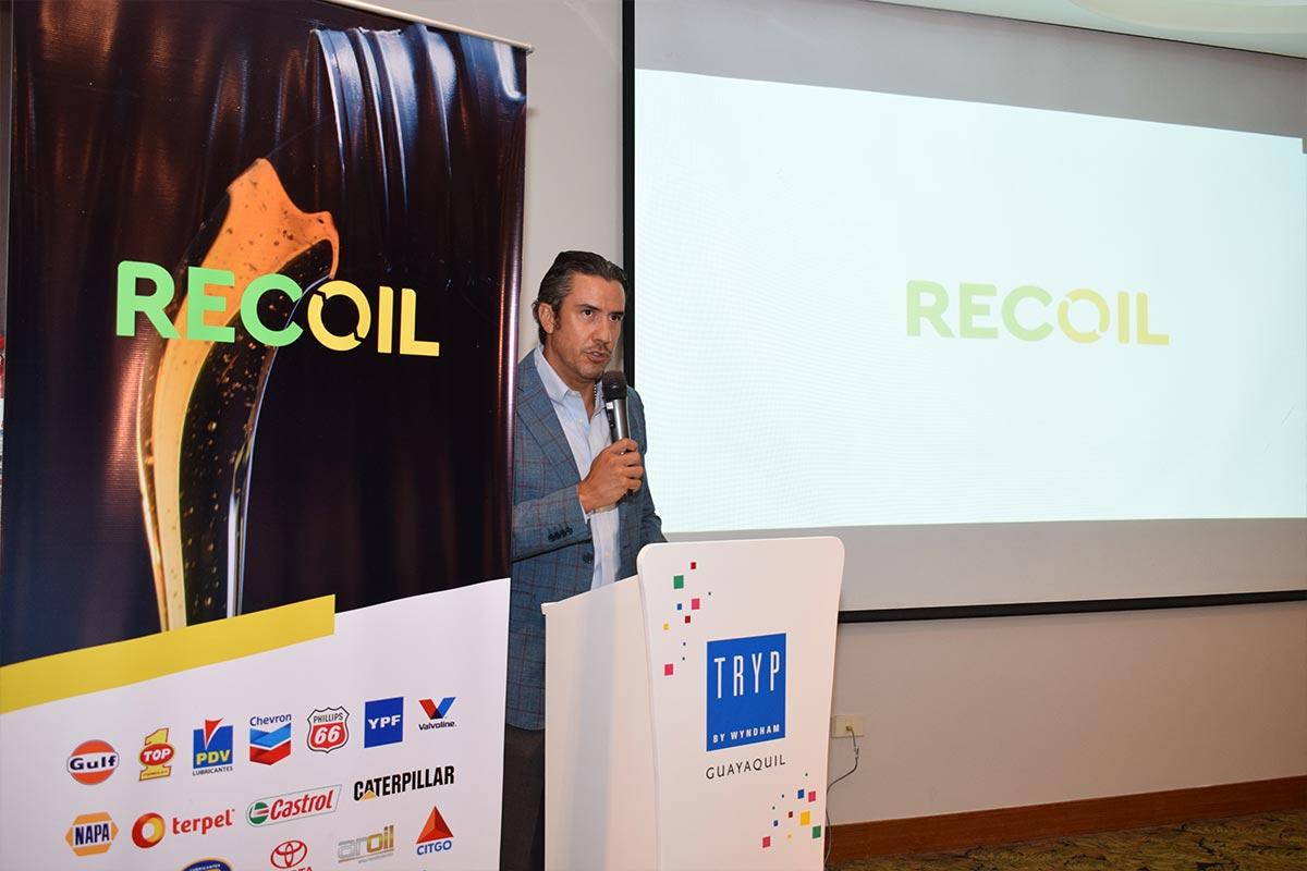 'Recoil', primera iniciativa de economía circular para aceites automotrices en Ecuador.
